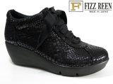 FIZZ REEN  No.479 ソフト本革厚底軽量ウォーキングシューズ 送料無料